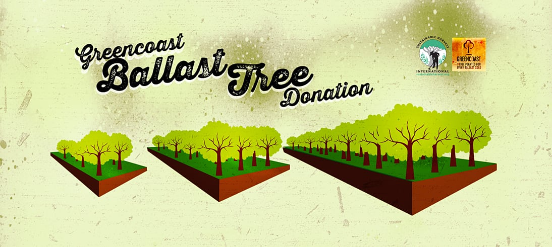 With every ballast sold, GreenCoast plants gets a tree planted in an effort to offset our carbon footprint.